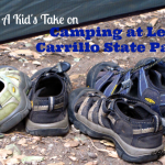 Camping at Leo Carrillo - Featured