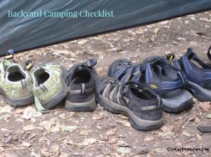 Backyard Camping Checklist
