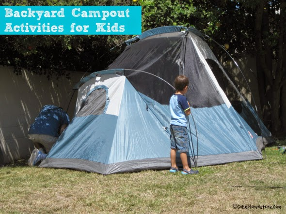 Backyard Campout Activities for Kids - GoExploreNature.com