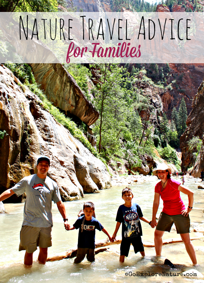 Looking for family travel tips? We share our best nature travel advice for families - including family camping ideas and popular outdoor family travel destinations.