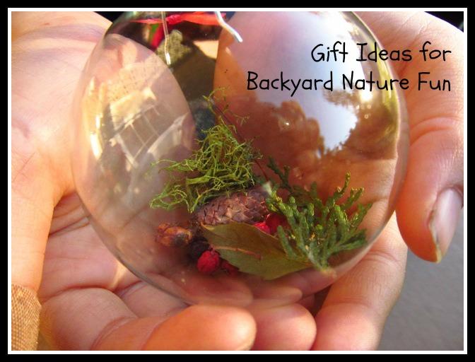 Backyard Gifts gift ideas for backyard nature fun - goexplorenature
