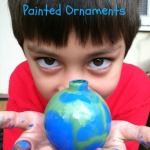 Nature-Inspired Painted Ornaments