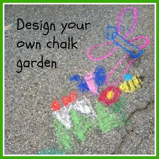 Day 28 Design Your Own Chalk Garden GoExploreNaturecom