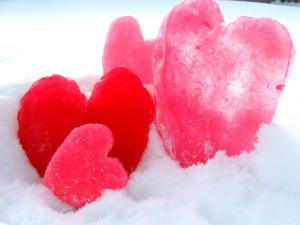 Ice hearts