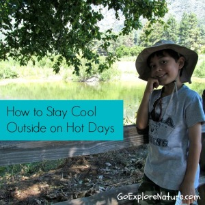 How to stay cool outside on hot days