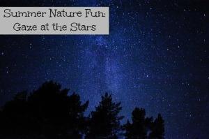Summer nature fun: Gaze at the stars