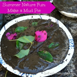 Summer Nature Fun: Make a Mud Pie