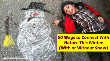 50 Ways to Connect With Nature This Winter - featured