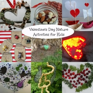 Valentine's Day Nature Activities for Kids