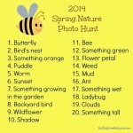 Fun Friday: 2014 Spring Nature Photo Hunt