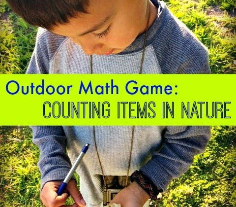 Outdoor-Math-Game-Counting-Items-in-Nature