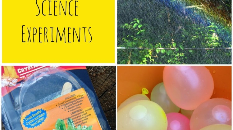 Summer-Science-Experiments