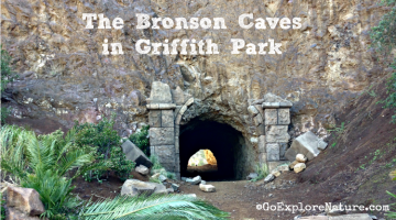The Bronson Caves in Griffith Park