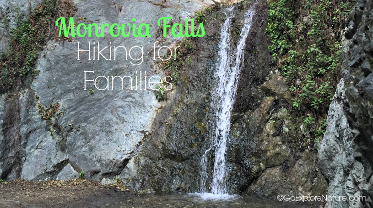 Monrovia Falls in Monrovia Canyon Park offers perfect hiking for families. Parents and kids alike will enjoy this popular Los Angeles waterfall hike.