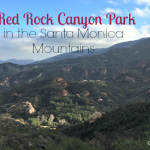 Red Rock Canyon Park in the Santa Monica Mountains