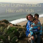 Point Dume Malibu Hike with Kids