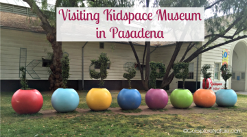 Need a fun LA outing all of your kids will enjoy? Try visiting Kidspace Children's Museum in Pasadena for hands-on learning and nature play.