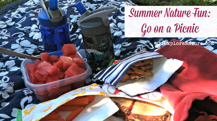This summer, go on a picnic. It's one of the simplest ways to sneak in outdoor time with kids – whether it's breakfast, lunch, an afternoon snack or dinner.