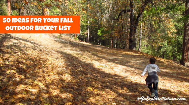 Fall Outdoor Bucket List