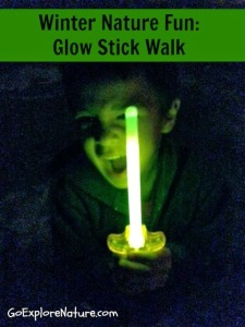 Winter Nature Fun: Glow Stick Walk